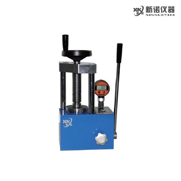 新诺 实验室红外压片机 SYP-12BS粉末压片机 两立柱 12吨  数显压力表