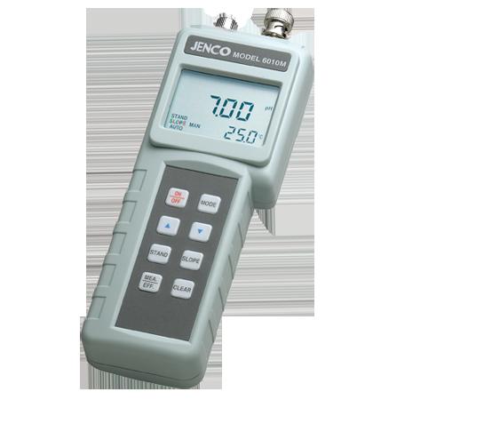 美国JENCO任氏6010M 手提式PH/ORP测试仪 多功能检测仪