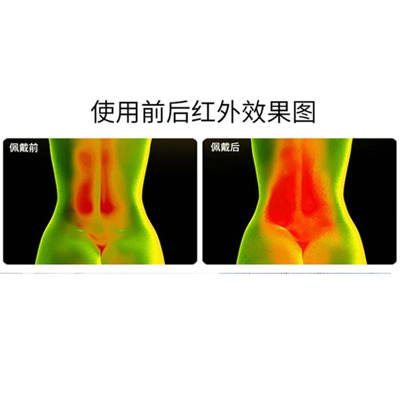 康烯乐石墨烯远红外腰肌劳损宫寒暖宫护肾腰部损伤腹部减肥透气不闷汗护腰