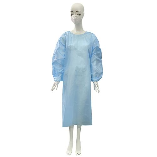 佰意 罩式隔离衣/一次性医用手术衣男女通用隔离衣/防护服/蓝色 黄色