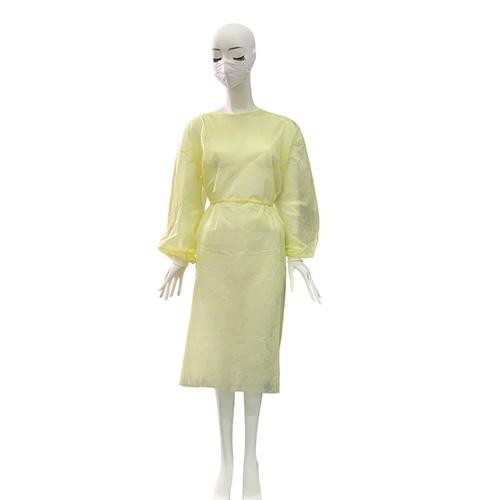 佰意 罩式隔离衣/一次性医用手术衣/男女通用隔离衣防护服/蓝色 黄色