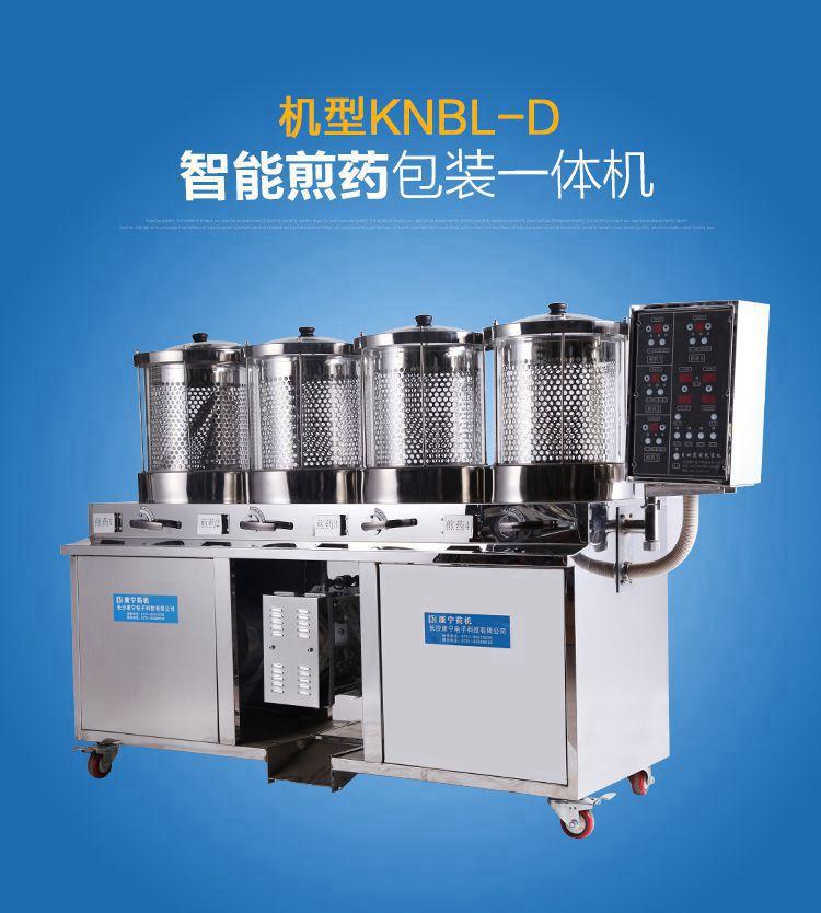 康宁常温玻璃煎药包装一体机KNBL-D