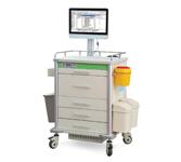 昌泓CH8801一体机型电脑型移动护理工作站 病房护理工作车(不含电脑)