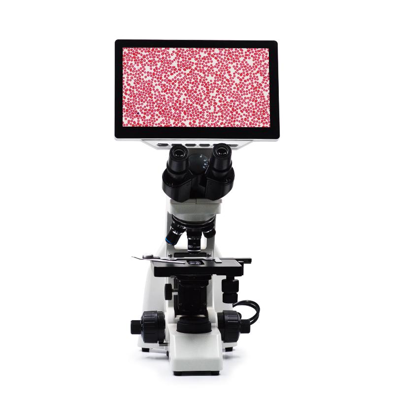 有限远光学视频数码生物显微镜相机拍照、录像、显示于一体