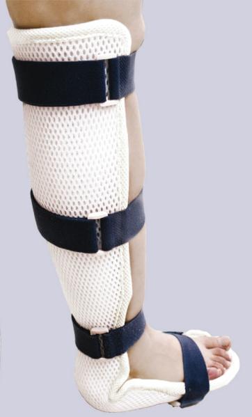 大华  成人全腿 医用高分子外固定夹板