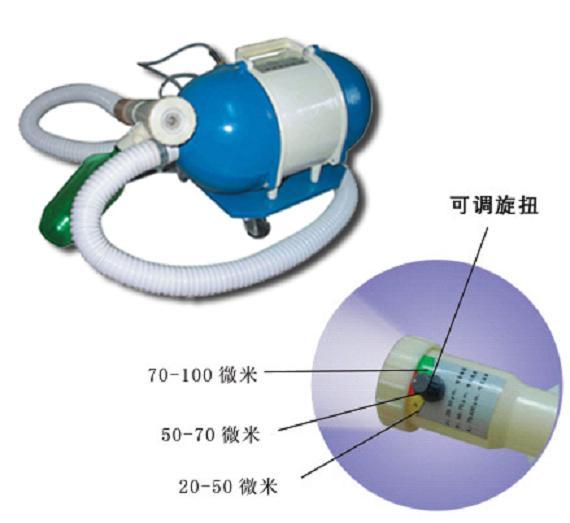 松源 DPQ-1200A移动气溶胶喷雾器 药液容量:1200ml