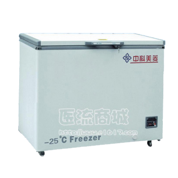 美菱DW-YW358A医用低温箱 -10~-25℃ 358L 卧式