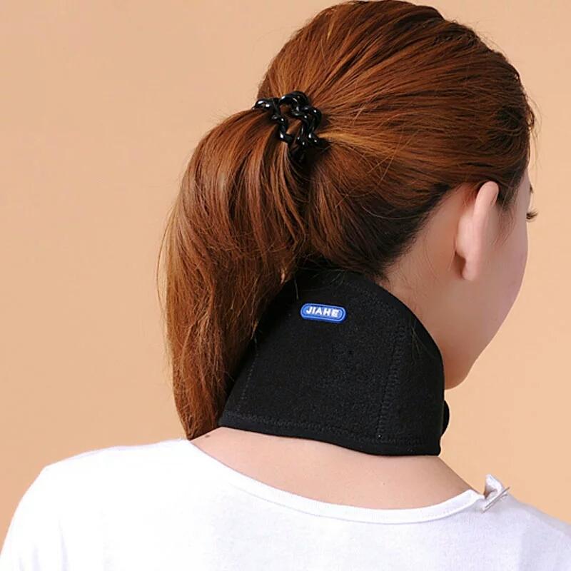 佳禾保健护颈 家用自发热磁疗保暖脖子带透气男女老人冬季