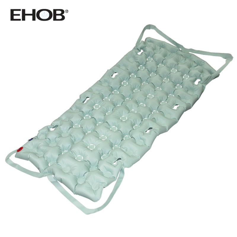 手动充气美国品牌EHOB防褥疮气床垫|易护宝医用家用气垫床|卧床病人翻身护理功能|适用骨折病人