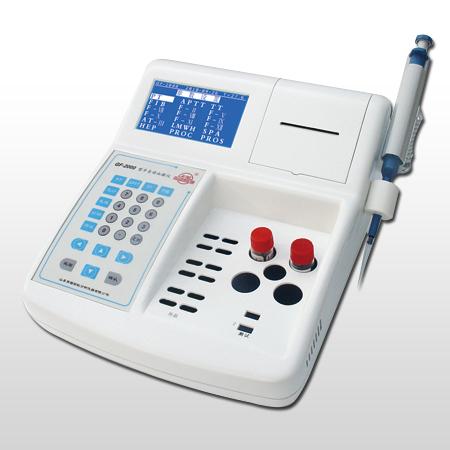 山东彩虹血凝仪GF-2000II ,单通道双通道国产血凝仪