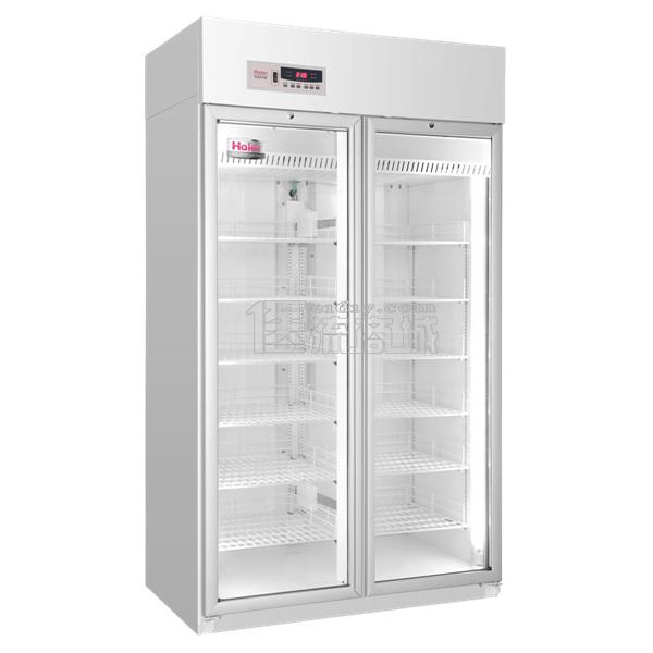 海尔2-8℃药品保存箱HYC-940/双开门890L医用冷藏