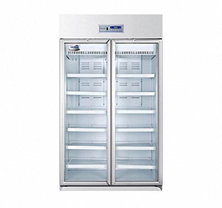 海尔2~8℃医用冷藏箱HYC-940/立式940L药品保存箱/双开门冷藏箱