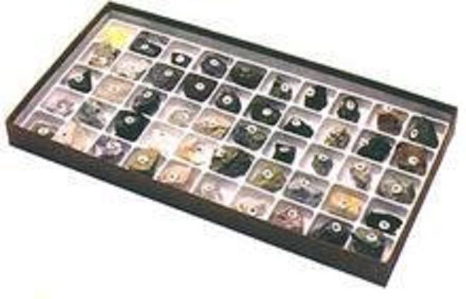 百种岩石矿物标本(100种)