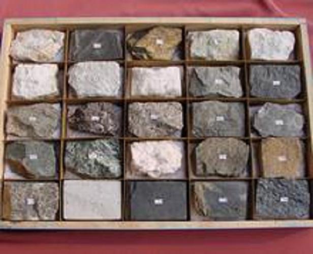岩石建材标本(12种)