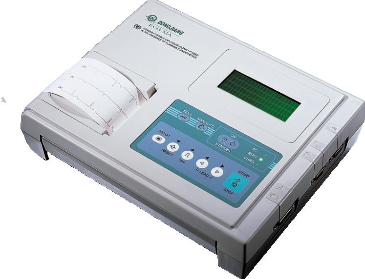 东江 ECG-32A 数字式三道心电图机/三道心电图机/三导