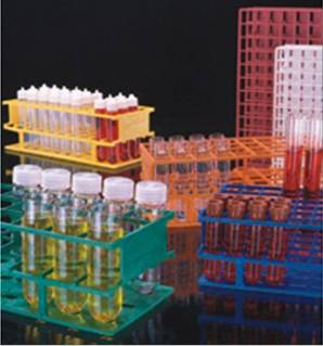 Nalgene/耐洁半尺寸试管架 ResMerTM制造技术 试管大小13mm 颜色红色