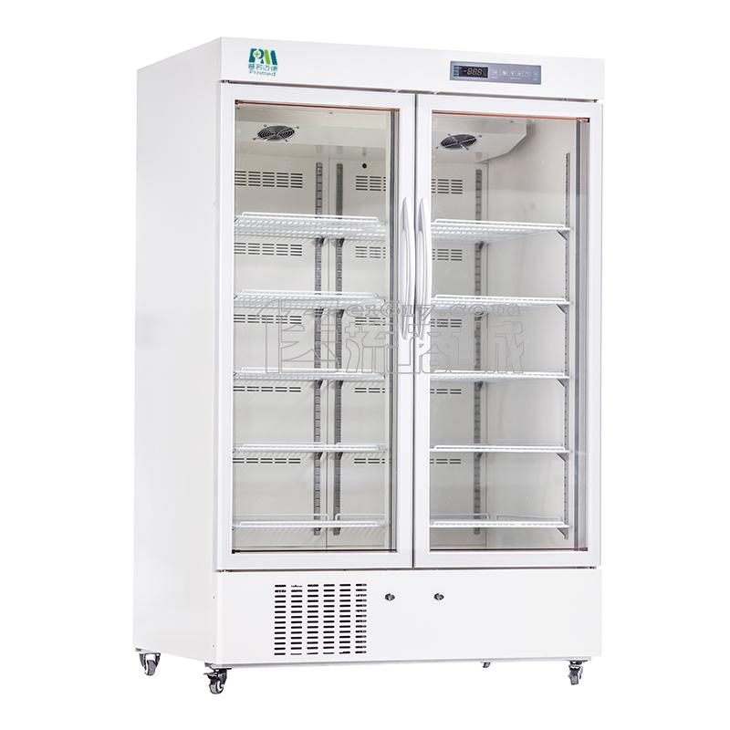 普若迈德MPC-5V1000T药品保存箱/立式双开门医用冷藏