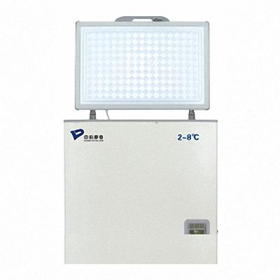 普若迈德 MPC-5H108T药品保存箱箱/2~8℃卧式108L药品冷藏箱/医用冰箱参数报价图片