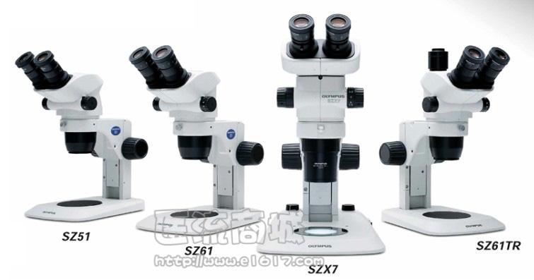 奥林巴斯 SZ61-SET体视显微镜 双目 6.7-45X