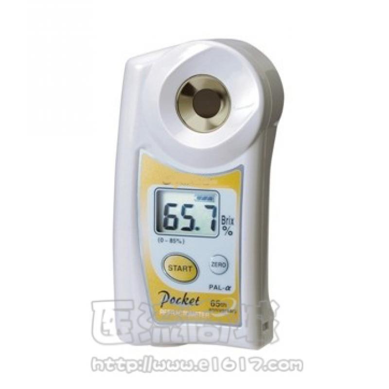 PAL-α迷你数显糖度 测量范围:0.0~85.0%