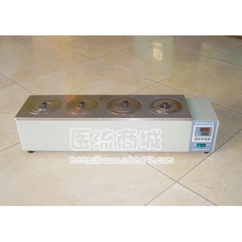 HH.S11-4-S数显式电热恒温水浴锅(单排四孔)