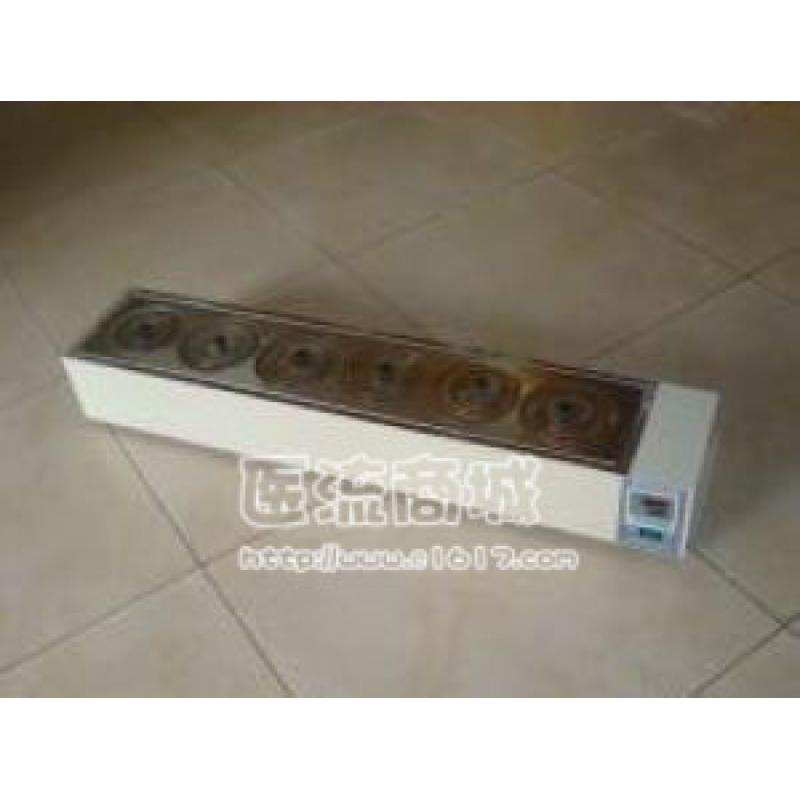 HH.S11-6-S数显式电热恒温水浴锅(单排六孔)