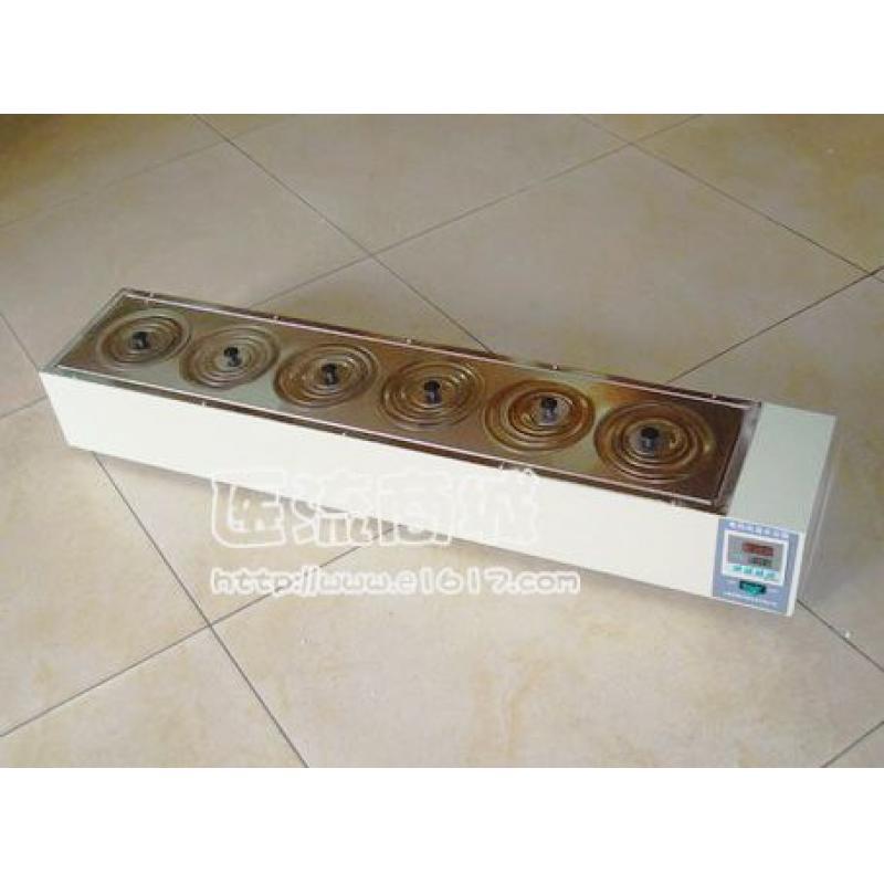 HH.S11-8-S数显式电热恒温水浴锅(单排八孔)