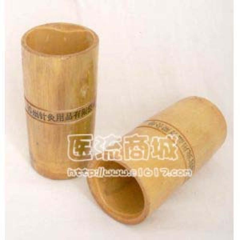 竹子拔火罐