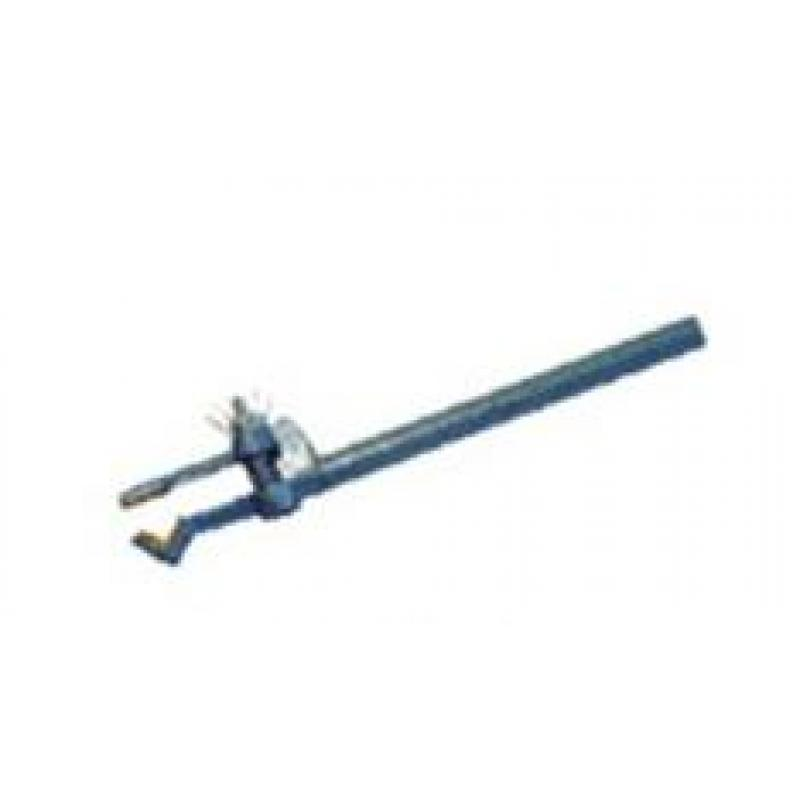 VL04676 铁架台用夹韧性铸铁,粉末涂层,跨距60mm