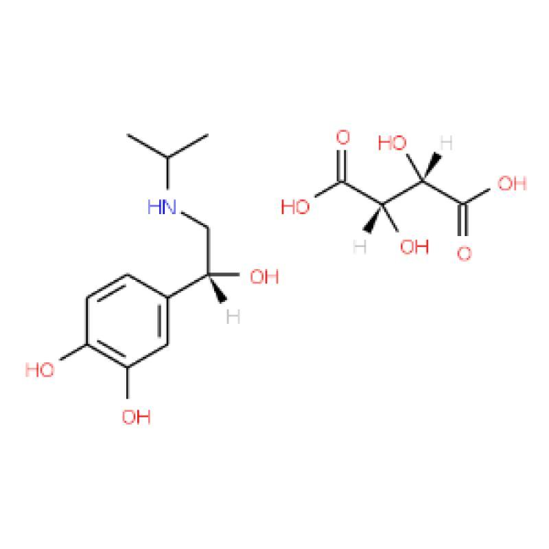 (-)-异丙肾上腺素 (+)-酒石酸氢盐