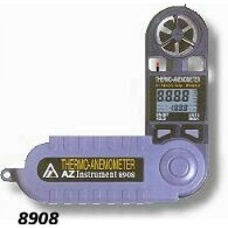 AZ-8908便携式风速计