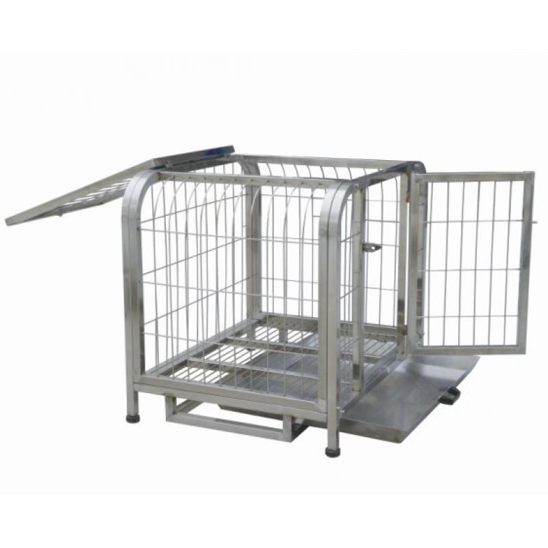 两层狗笼不锈钢
