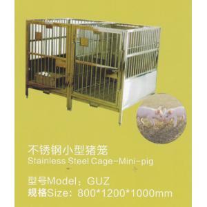 不锈钢小型猪笼