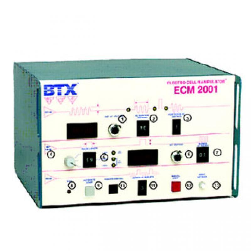美国BTX ECM2001BTX细胞基因转移仪 电压500V 低压力