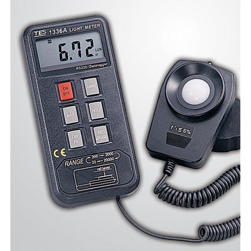 TES-1336A外置探头光电数字照度计