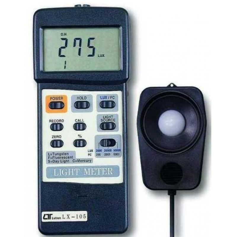 路昌LX107外置探头光电照度计