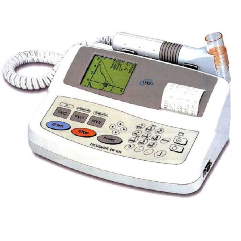 捷斯特HI-101台式肺功能仪(100个存储空间)
