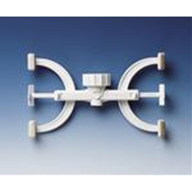 Brand 滴定台 滴定管夹(PP材质,白色)
