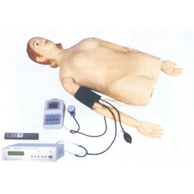 GD/Z980B数字遥控式电脑腹部触诊血压测量模拟人 (常用疾病压痛与反跳痛等教学训练,并可以远距离遥控教学,同时具有无创血压测量功能)