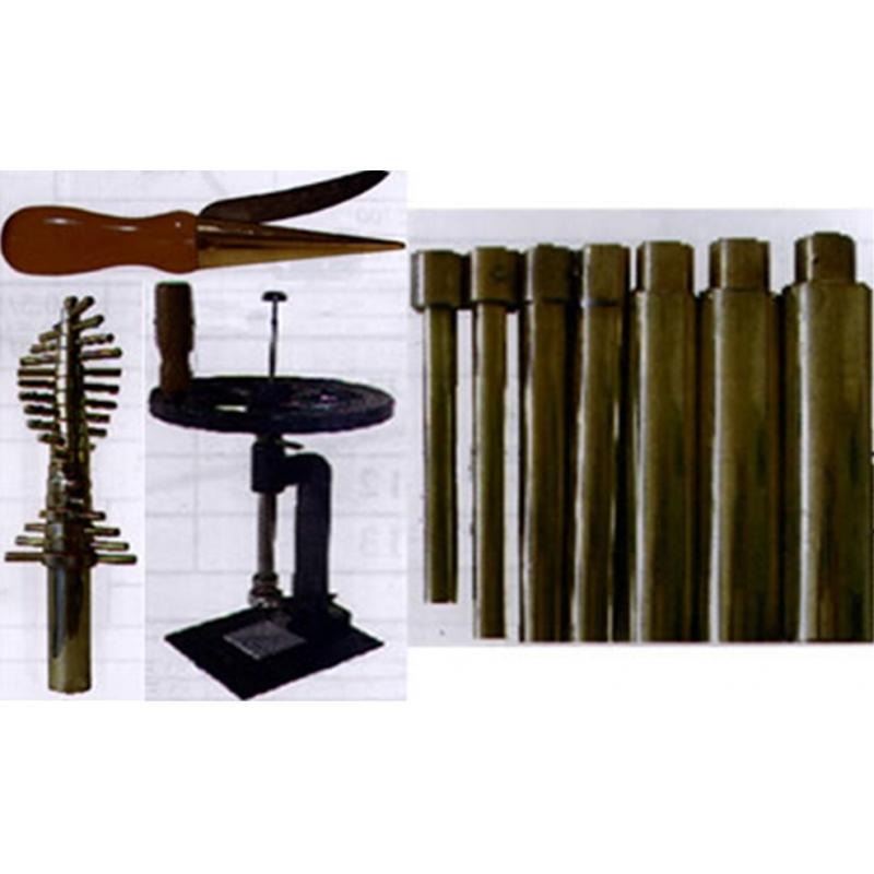 VL 02077 # JUCHHEIM 成套软木塞钻头 镀镍(18件套,可钻孔直径5~26 mm)