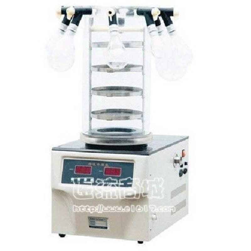 博医康FD-1C-50多歧管冷冻干燥机 挂瓶普通型 -50℃ 冻干面积0.12㎡