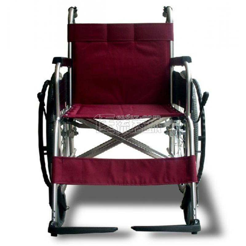 MIKI三贵MPT-43L轮椅 航太铝合金 免充气 经典系列