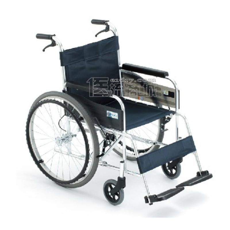 MIKI三贵 MPT-43JL轮椅 航太铝合金 免充气 经典系列