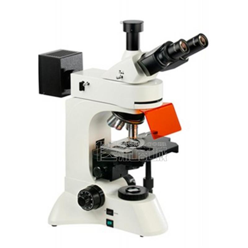 领成 XSP-C18无限远荧光显微镜 三目 40-1000X
