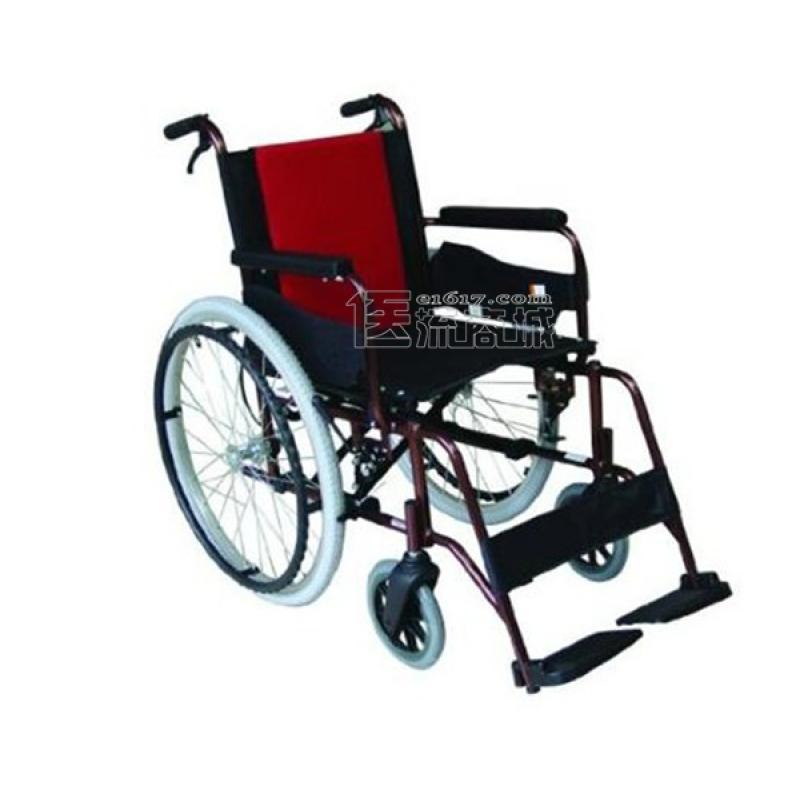 MIKI三贵MCV-49JL轮椅 航太铝合金 免充气 经典系