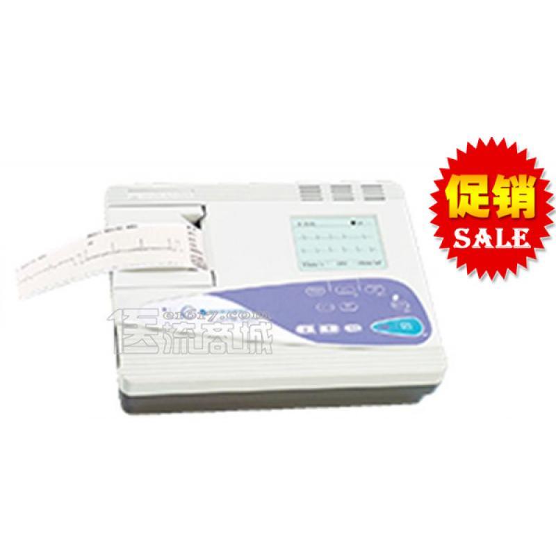 日本光电 ECG-6951E单道3.8英寸显示数字自动心电图机(经典款6511升级版)
