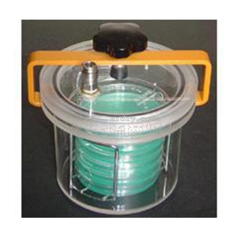 HP100抽气型厌氧罐 10L 配真空压力表