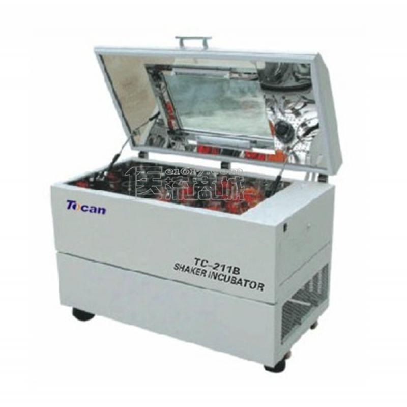 领成TC-211B卧式恒温振荡器 3~55℃ 摇板:920×