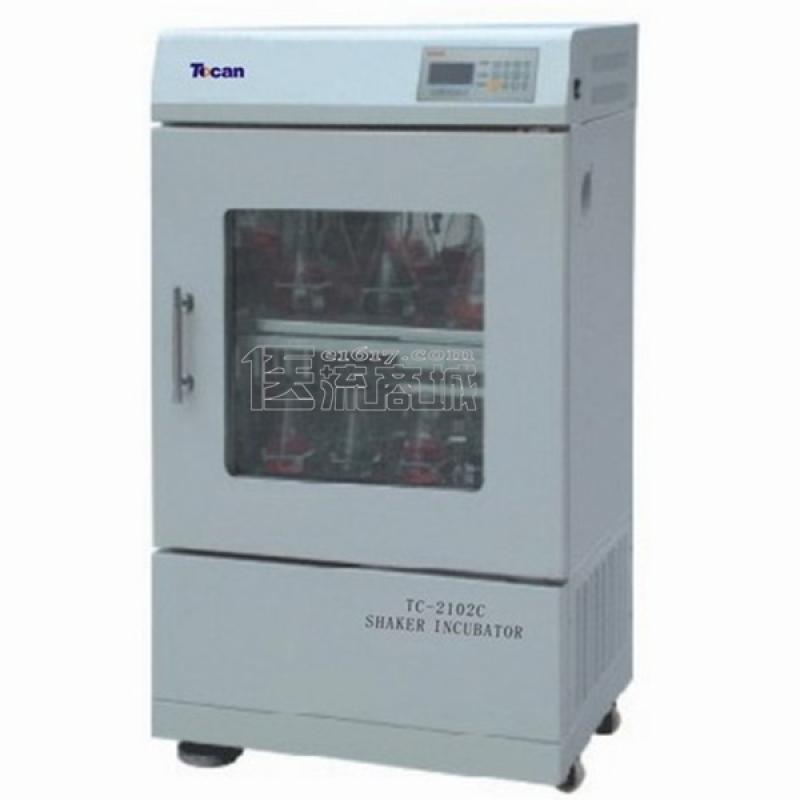 领成TC-2102C双层小容量恒温培养振荡器 3~55℃ 双