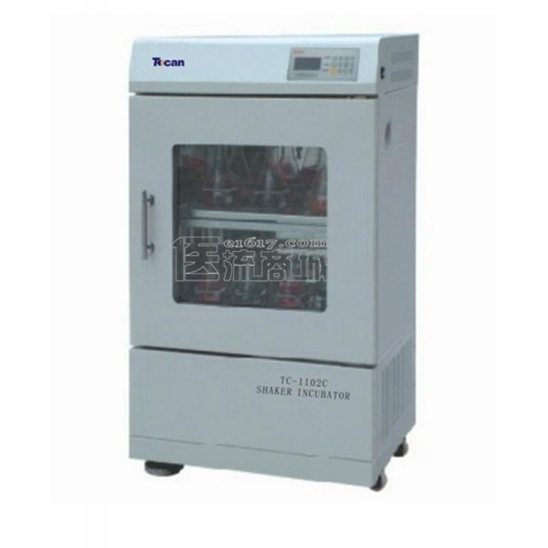 领成TC-1102双层大容量恒温培养振荡器 室温+3~55℃